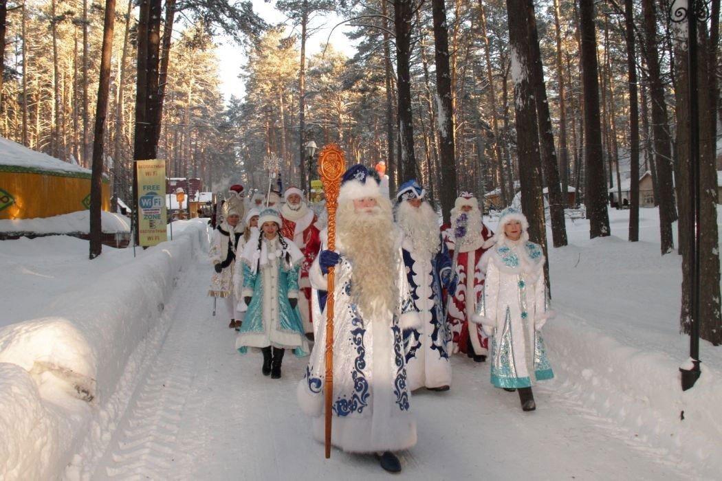 Посетители «Томской Писаницы» увидят парад Дедов Морозов
