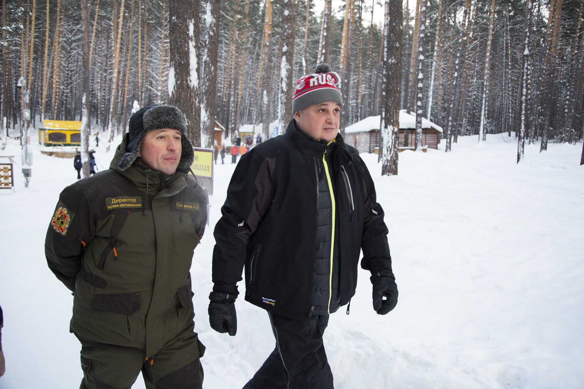 «Томскую Писаницу» посетил губернатор Кузбасса
