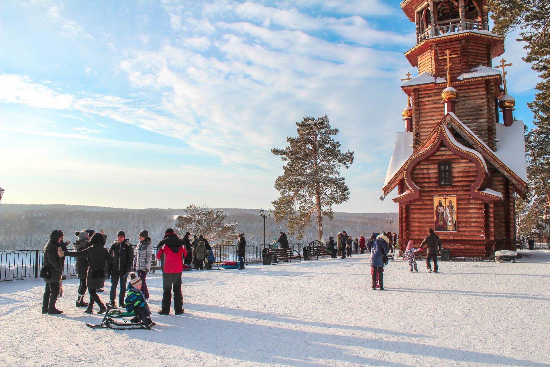 На «Томской Писанице» в январские каникулы побывали 11 000 человек